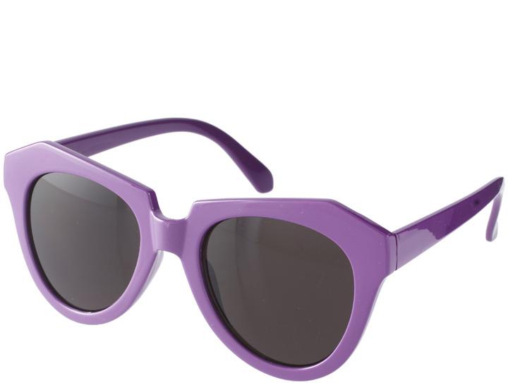 A. J. Morgan AJ Morgan Cookie Cateye Sunglasses - Purple