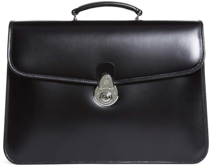 Brooks Brothers Double Gusset Classic Briefcase