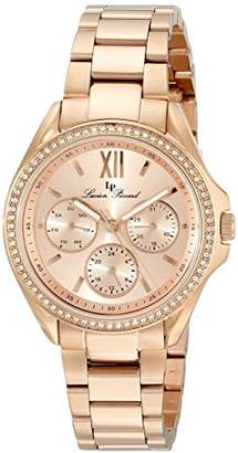 Lucien Piccard Women's LP-10052-RG-99 Eclipse Gold-Tone Stainless Steel Watch