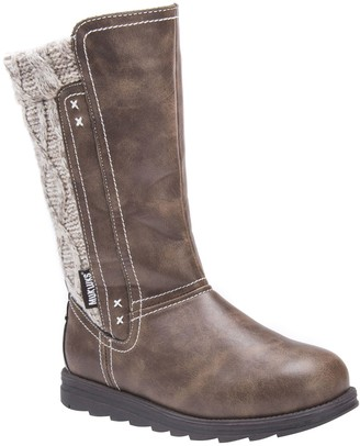 Muk Luks Mid-Calf Boots - Stacy