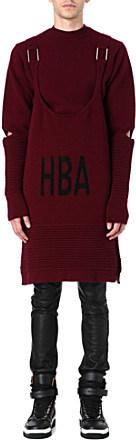 Hood by Air Corgi ripple sweatshirt with vest - for Men