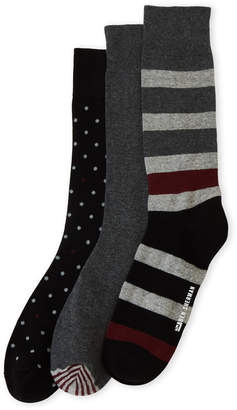 Ben Sherman 3-Pack Rugby Striped Crew Socks