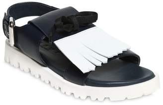 Nappa Leather Sandals W/ Fringe
