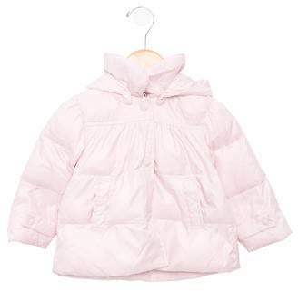 Il Gufo Girls' Hooded Puffer Coat