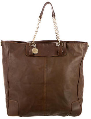 Lanvin Leather Tote $225 thestylecure.com
