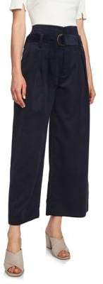 1 STATE 1.State High-Waist Cropped Pants