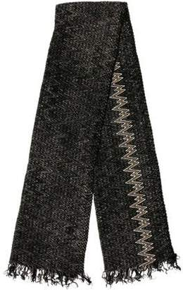 Missoni Mohair-Blend Patterned Scarf