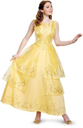 Disney Women's Plus Size Belle Ball Gown Prestige Adult Costume