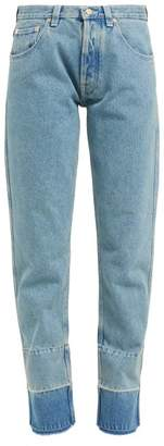 Loewe Faded Wash Denim Jeans - Womens - Denim