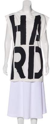 Gareth Pugh Sleeveless Graphic Top