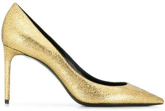 Saint Laurent Zoe metallic pumps