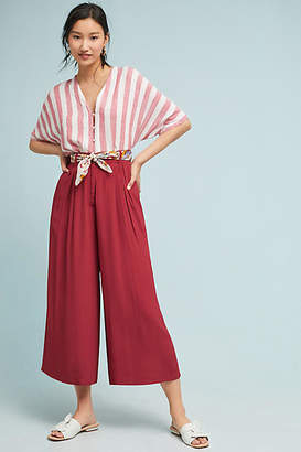The Odells Relaxed Wide-Leg Trousers