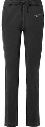 Acne Studios Elodie Embroidered Cotton-jersey Track Pants