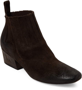 Marsèll Dark Brown Freccia Burnished Ankle Boots