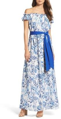 Women's Eliza J A-Line Maxi Dress $168 thestylecure.com
