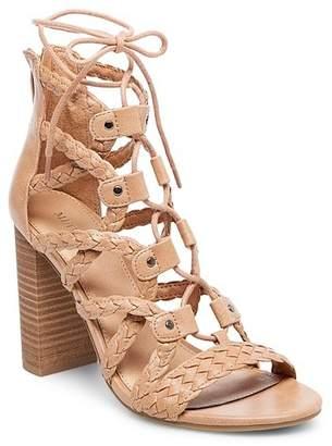Merona Women's Kolbi Braided Ghillie Heeled Gladiator Sandals $32.99 thestylecure.com