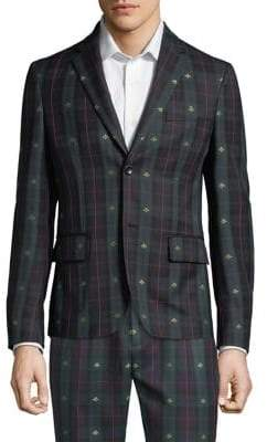 Gucci Bee Check Jacket