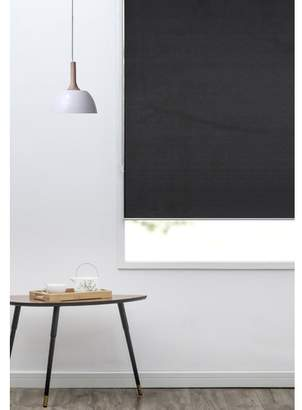 Black Sunshade Roller Blind
