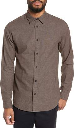 Selected Lucas Houndstooth Check Sport Shirt