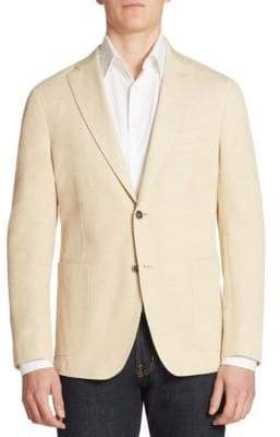 Saks Fifth Avenue COLLECTION Piquet Single-Breasted Blazer