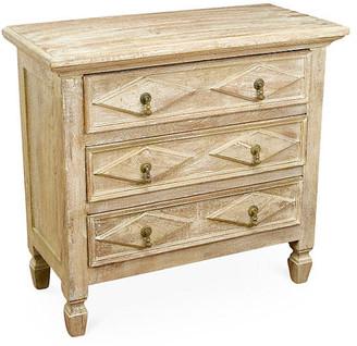 One Kings Lane Amelia 3-Drawer Dresser - Natural