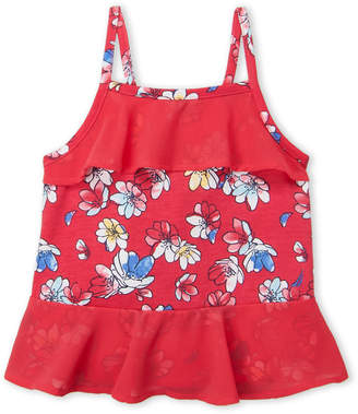 Nautica Toddler Girls) Printed Jersey Sleeveless Top