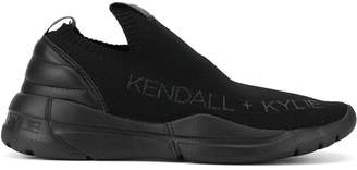 KENDALL + KYLIE Kendall+Kylie logo sock sneakers