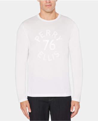 Perry Ellis Men's Logo Graphic T-Shirt