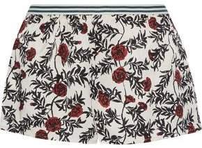 Love Stories Edie Floral-Print Sateen-Twill Pajama Shorts