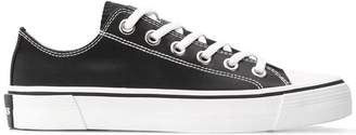 Marc Jacobs low top satin-effect sneakers