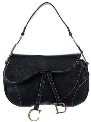 Christian Dior Double Saddle Bag
