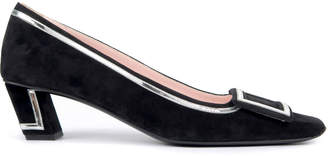 Roger Vivier Belle Vivier Two-Tone Graphic Pumps