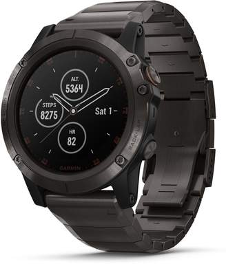 Garmin fenix(R) 5X Plus Sapphire Premium Multisport GPS Watch, 51mm