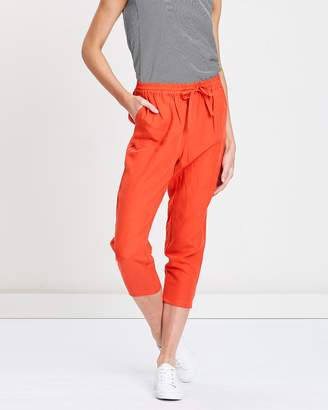 Privilege Drawstring Crop Pants