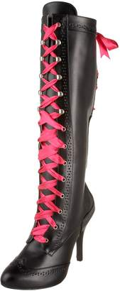 Pleaser USA Bordello by Women's Tempt-125 Lace Up Boot