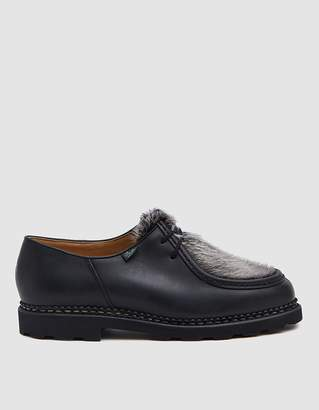 Paraboot Michael Derby Shoe in Black
