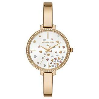 Michael Kors Womens Analogue Quartz Watch with Stainless Steel Strap MK3977