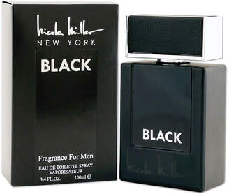 Nicole Miller Black for Men Eau de Toilette Spray, 3.4 oz. / 100 mL