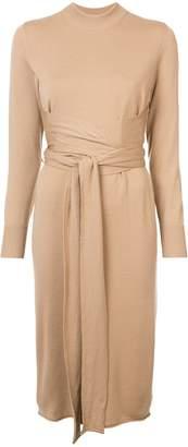 Proenza Schouler Crewneck Wrap Dress