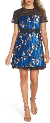 Foxiedox Carmella Pleated Minidress