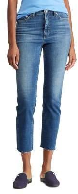 Lauren Ralph Lauren Straight-Fit Ankle Jeans