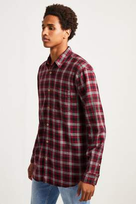 French Connenction Subtle Dobby Check Shirt