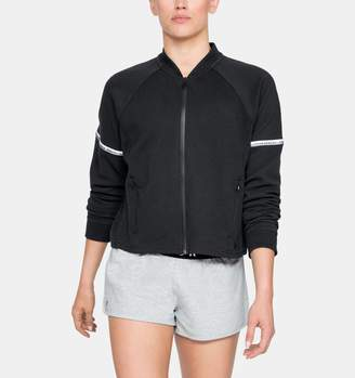Under Armour Women's UA Unstoppable Double Knit Bomber Jacket