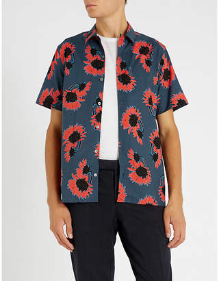 Paul Smith Floral-print casual-fit woven shirt