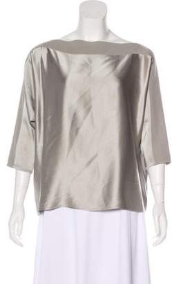 Rubin & Chapelle Silk Satin Blouse