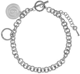 MM6 MAISON MARGIELA Silver Chain Link Necklace