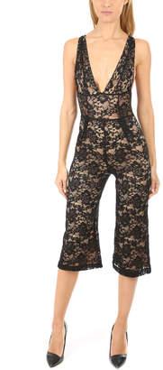 Nightcap Clothing Decollete Jumpsuit