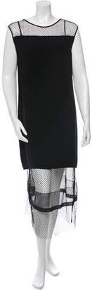 Helmut Lang Sleeveless Mesh Dress w/ Tags