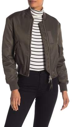 AllSaints Bree Laced Frizza Bomber Jacket