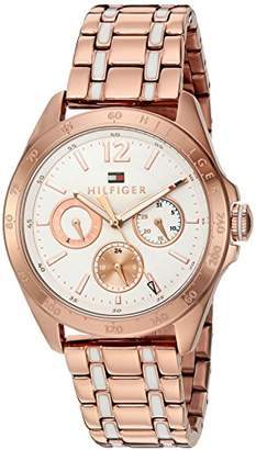 92e3f621 Tommy Hilfiger Women's Quartz Tone and Plated Casual Watch(Model: 1781666)